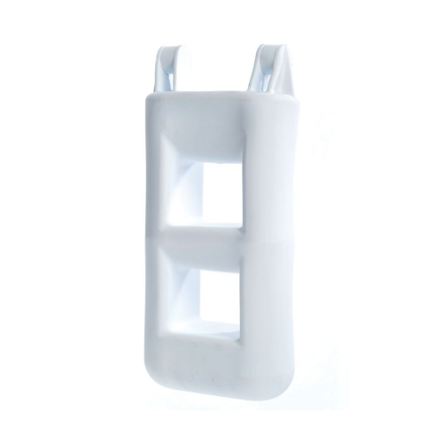 2 Step fender Ladder White